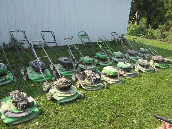 Photo 17 - 2 Cycle Lawn Boy Push Mowers for Parts  Trailer Load of Parts - $200 (Salem, IA)