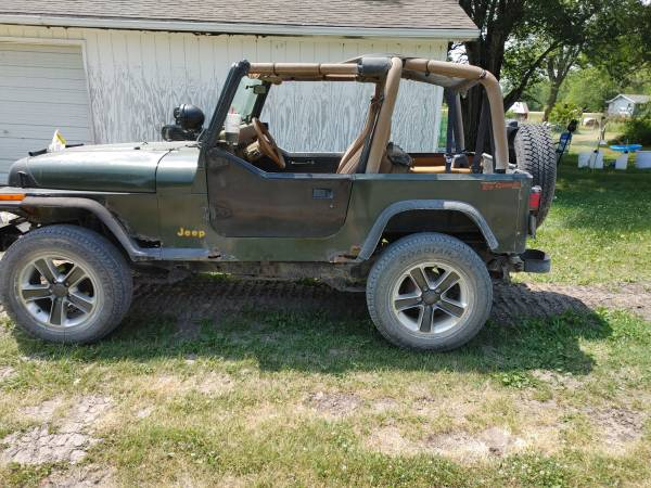 Photo 1995 jeep wrangler rio grand 2800 obo - $2,800 (Millerton)