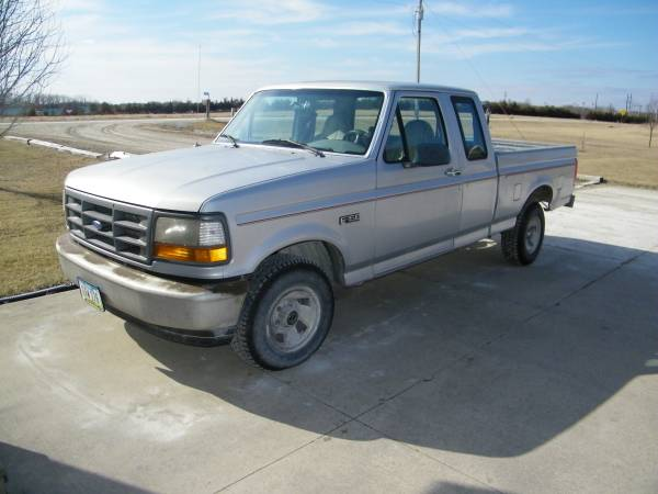 Photo 1996 Ford F150 ext - $1600 (Keosauqua)