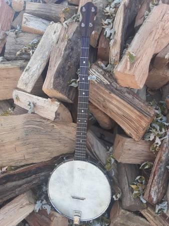 Photo Custom Left Handed 5 String Banjo-----Napa, California USA - $450 (Des Moines)