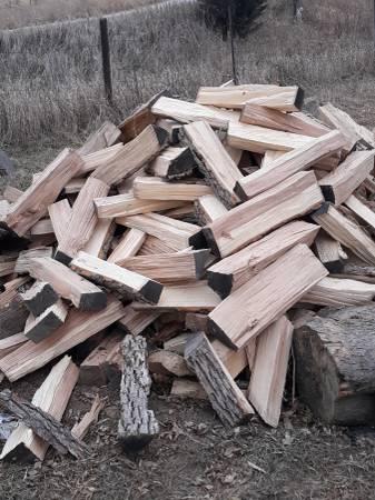 Photo Oak firewood - $140 (Montezuma)