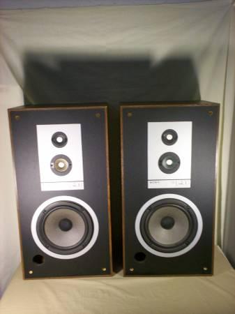 Photo Sony SS U400 3 way Cabinet Speakers - $70