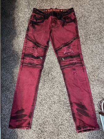 Photo rock revival jeans - $125 (Fort Madison)