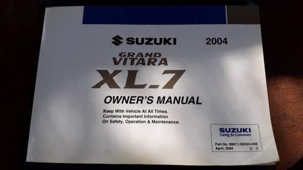 Photo 04 Suzuki Manual - $5 (Willow Spring)
