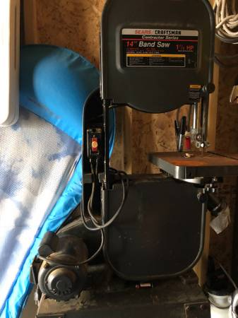 Photo 14 Craftsman Bandsaw - $150 (Kill Devil Hills)