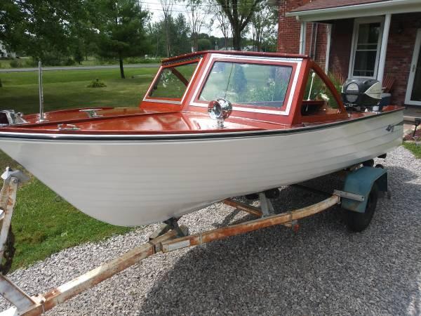 Photo 1961 Grady White Pamlico Hull 2 Historic Wood Boat - $12,500 (Casco)