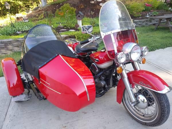 Photo 1965 Harley Davidson Panhead with Side car - $42,500 (maine)