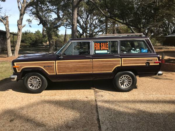 Photo 1990 Jeep Grand Wagoneer - $15000 (Nags Head)