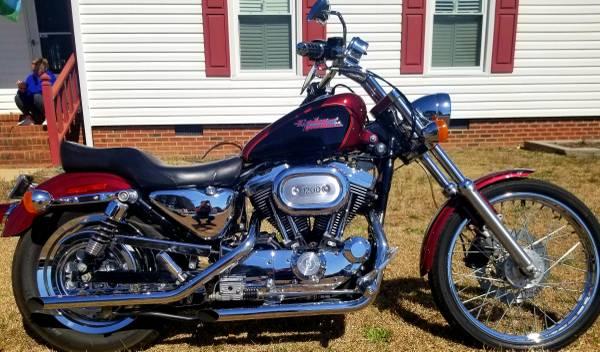 Photo 2000 Harley Davidson Sportster 1200 - $4,000 (Smithfield)