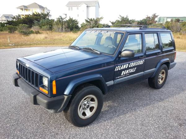 Photo 2001 jeep cherokee sport 6 cylinder automatic 4x4 - $2850 (SALVO)