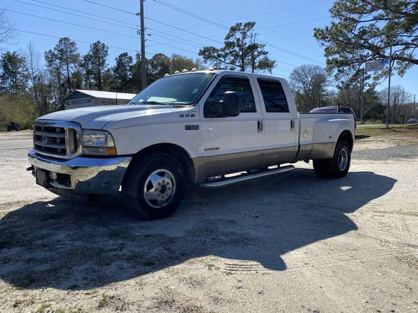 Photo 2002 FORD F-350 CREW CAB, LARAIT, DUALLY, 7.3 POWER STROKE DIESEL - $8995 (DIESEL TRUCK LOT)
