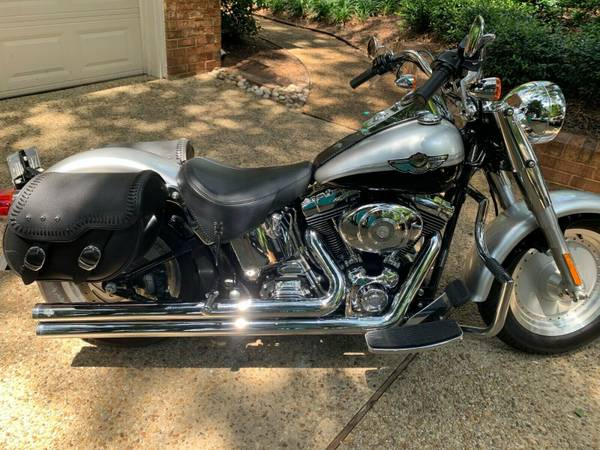 Photo 2003 100th Anniversary Harley-Davidson Fat Boy - $10,900 (Virginia Beach)