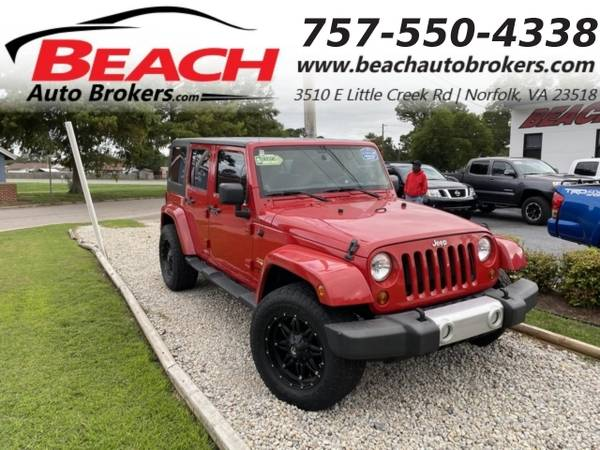 Photo 2013 Jeep Wrangler Unlimited UNLIMITED SAHARA 4X4, WARRANTY, HARD TOP, (_Jeep_ _Wrangler Unlimited_ _SUV_)