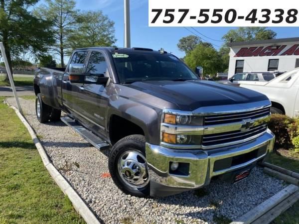 Photo 2015 Chevrolet Silverado 3500HD 3500 LTZ CREW CAB 4X4, WARRANTY, DURAM (_Chevrolet_ _Silverado 3500HD_ _Truck_)