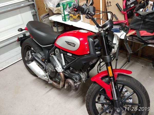 Photo 2015 Ducati Scrambler Icon - $5,500 (Kitty Hawk)