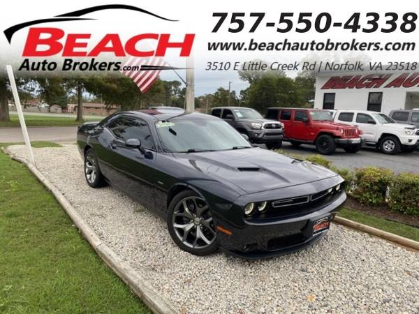 Photo 2016 Dodge Challenger RT, WARRANTY, MANUAL, LEATHER, NAV, BLUETOOTH, (_Dodge_ _Challenger_ _Coupe_)