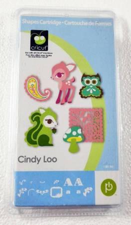 Photo Cindy Loo Cricut cartridge - $15 (Durham)