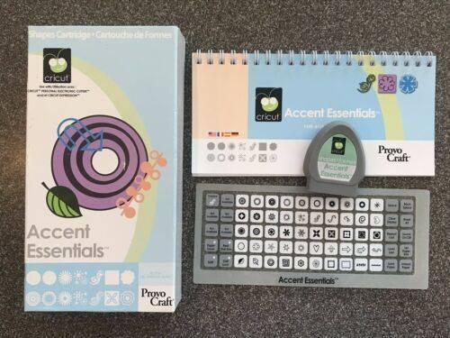 Photo Cricut Accent Essentials Cartridge - $15 (Durham)