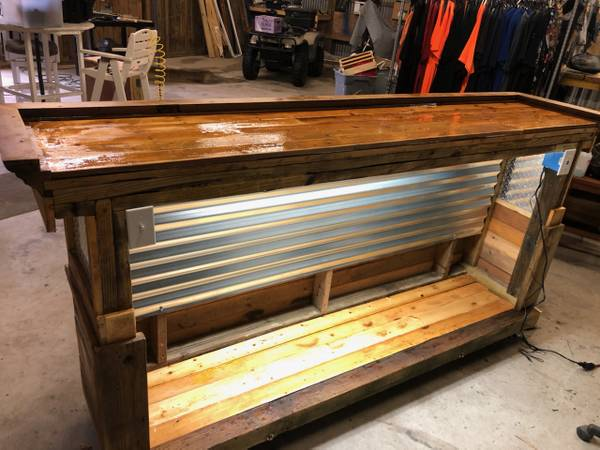 Photo Custom made bar wlights and electricity - $900 (Powells Point)