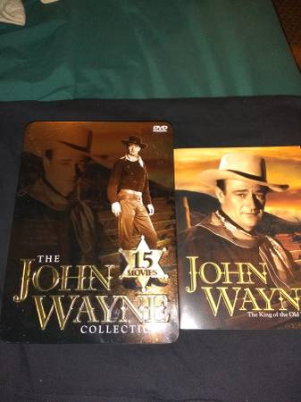 Photo John Wayne dvd collection - $25 (Portsmouth)