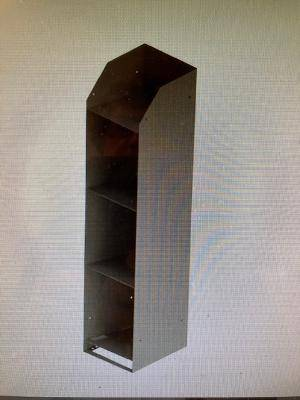 Photo Kargo Master 40280 Standing Binder Rack Grey Universal Fit 3 Shelves - $20 (12637 Wilfong Dr Midlothian, VA)