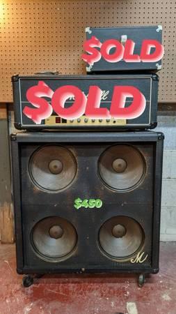 Photo Marshall Big M Cabinet - $450 (Durham)