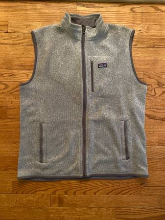 Photo Men39s Patagonia Better Sweater Vest (Grey - XL) - $50 (N Raleigh)