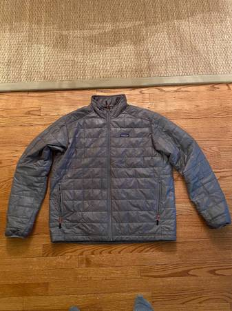 Photo Men39s Patagonia Nano Puff Jacket (Grey - XL) - $95 (N Raleigh)