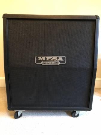 Photo Mesa Boogie Slant 4x12 Speaker Cabinet Celestion V30s - $750 (Wake Forest)