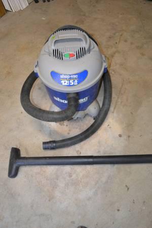 Photo Shop Vac Contractor 12 Gal 5.0 HP - $40 (VIRGINIA BEACH)