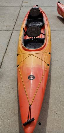 Photo Used 202039 Perception Cove T 14.5ft- Sit Inside Kayak with Paddles - $825 (Duck)