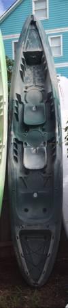 Photo Used 2020 Perception 13.5 Rambler T- Sit on Top Kayak w paddlesseats - $525 (Duck)