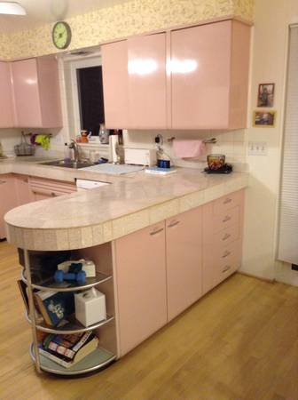 Wooden Cabinets Vintage 1950s Kitchen Cabinets For Sale