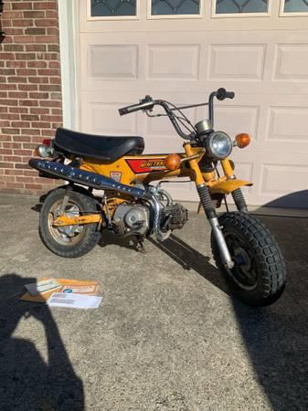 Photo 1979 Honda CT 70cc trail monkey minibike - $2,800 (Louisville)