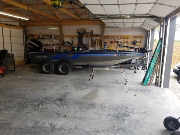 Photo 1995 nitro bass boat - $9000 (Utica)