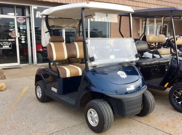 Photo 2016 E-Z-GO RXV Patriot Blue Custom Golf Cart - $3450 (AACO EVANSVILLE)