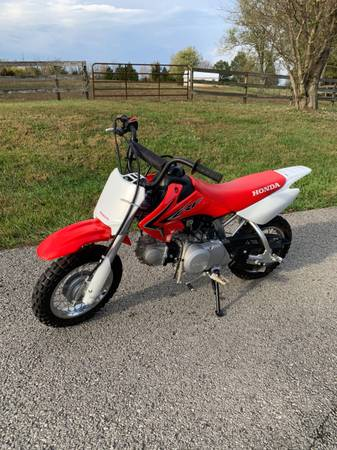 Photo 2019 Honda Z50R CRF50F crf50cc dirt bike pit - $1,600 (Crestwood)