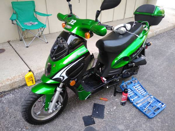 Photo 2020 50cc Scooter - $900 (Jeffersonville IN)