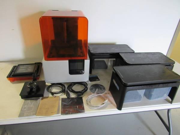 Photo 3D Printer Equipment Auction