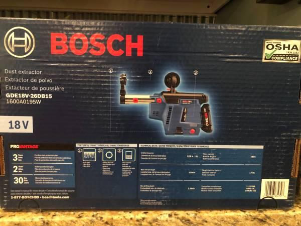Photo Bosch Bulldog Dust Extractor - $140 (Owensboro)