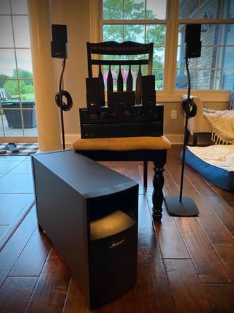 Photo Bose Surround Sound w Onkyo receiver - $600 (Owensboro)