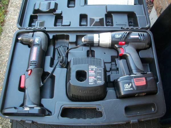 Photo Craftsman 2 Piece Drill Driver Set NEW - $75 (Mt. Washington)