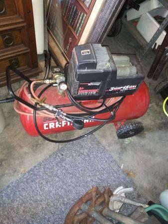 Photo Craftsman air compressor (electric) reduced - $110 (Sellersburg)