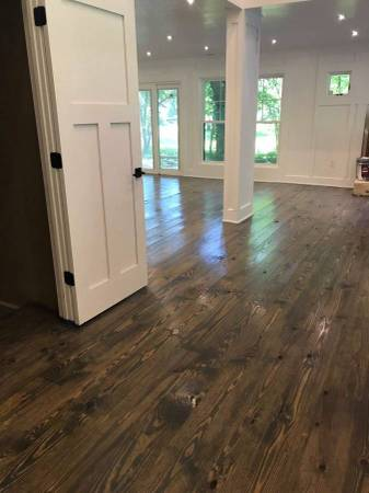 Southern Yellow Pine Tongue And Groove Flooring Materials For