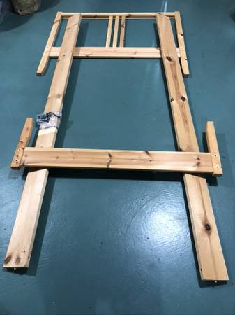 Photo Twin-size Ikea Bed Frame - $20 (Bloomington)