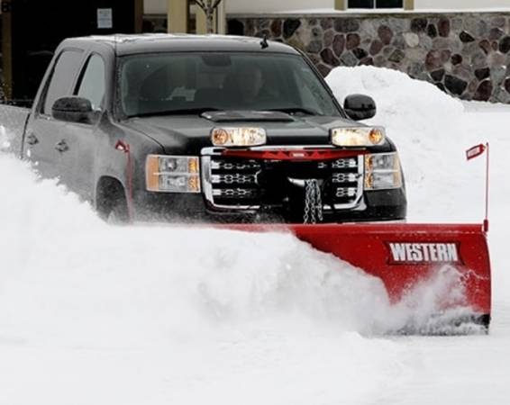 Photo Western HTS 7396quot Snow Plow - $2,000 (Bristow)