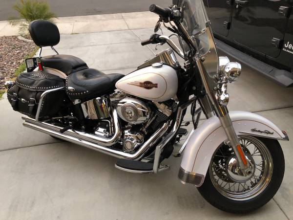 Photo 07 Harley Davidson Heritage Softail - $10,500 (Menifee)
