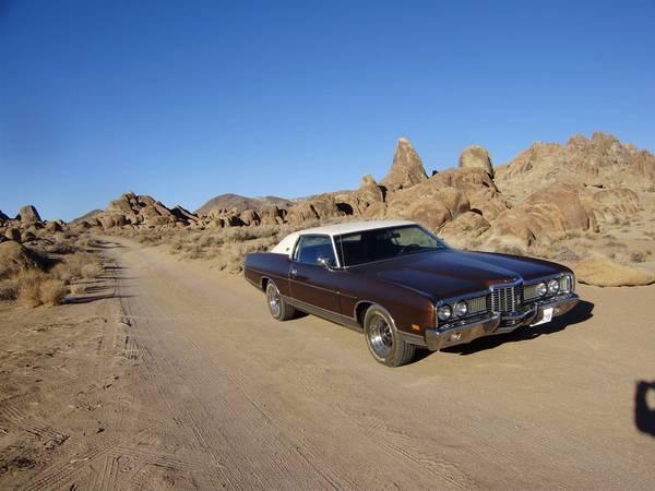 Photo 1972 ford LTD Brougham - $11950 (Joshua Tree)