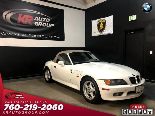 Photo 1998 BMW Z3 73161 MILES AUTOMATIC WONT LAST. - $5950 (Palm Desert)