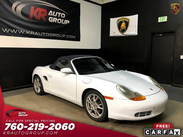 Photo 1999 PORSCHE BOXTERAUTOMATICNICE CAR. - $6,950 (Palm Desert)